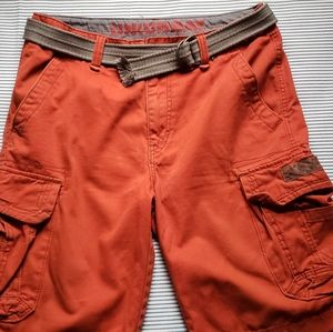 🇺🇲 New! Men's Cargo Shorts With Belt.